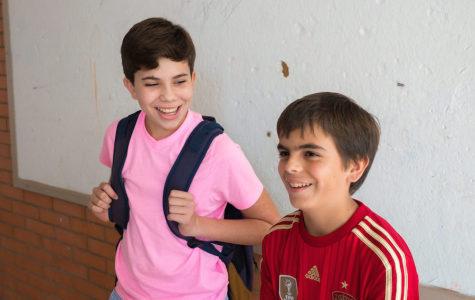 Nicolas, Grade 8 and Sebastian, Grade 6