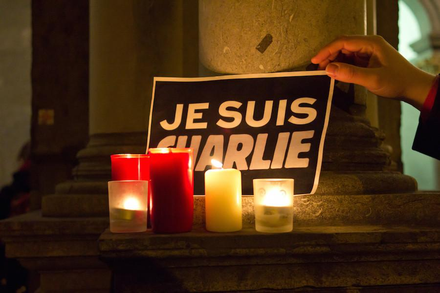 Don't give in, Charlie Hebdo