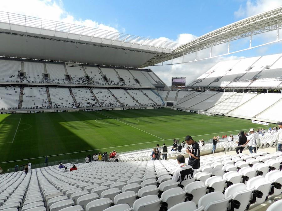 World Cup stadia finally finished