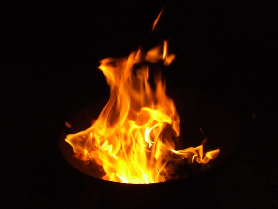 Fight fire with a burning sensation