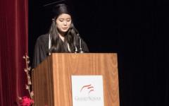 Valedictorian speech, Graduation 2015