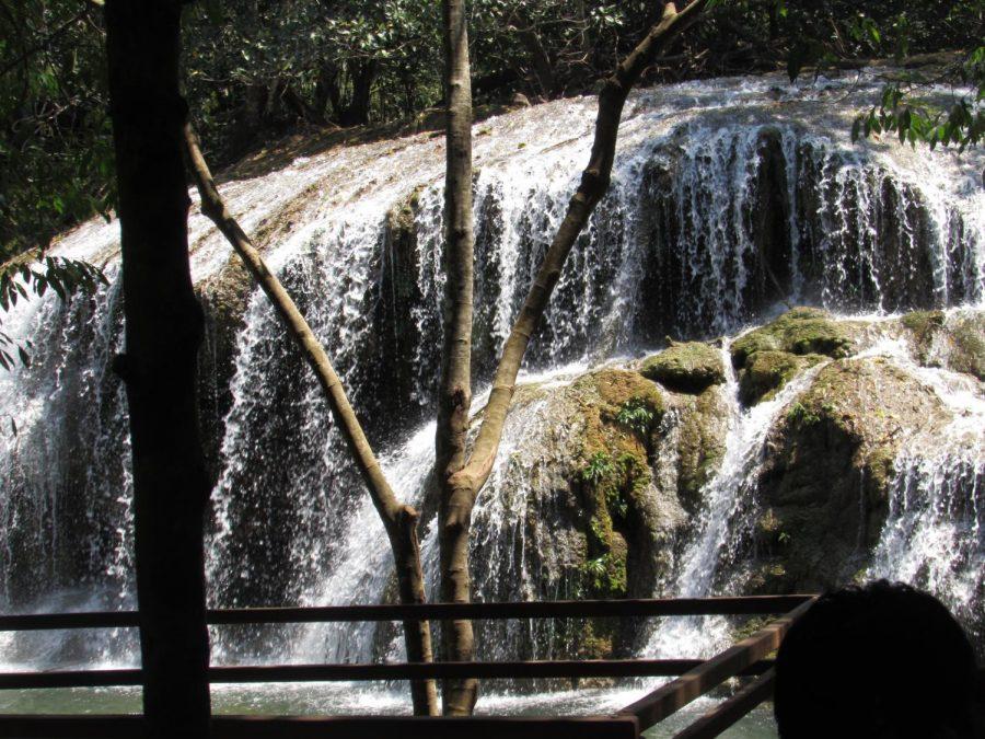 Waterfall in Estância da Mimosa