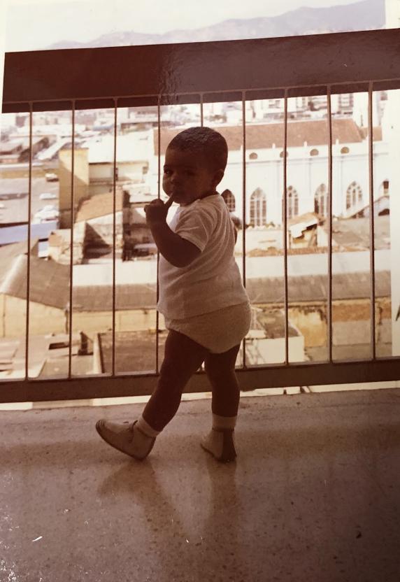 My+mom+in+Venezuela+as+a+baby