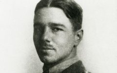 Poems written by Wilfred Owen were studied in the Communication of Conflict and Control in both English and History courses.